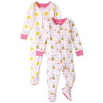 THE CHILDREN'S PLACE/チルドレンズプレイス Daisy Bee Snug Fit Cotton One Piece パジャマ 2パック