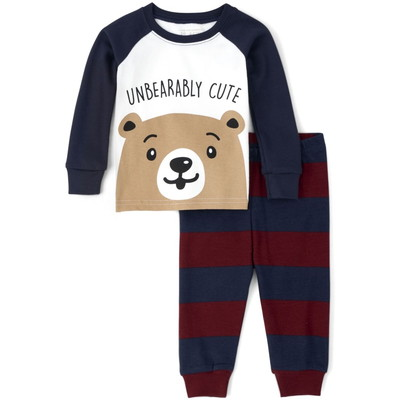 THE CHILDREN'S PLACE/チルドレンズプレイス Bear Snug Fit Cotton パジャマ