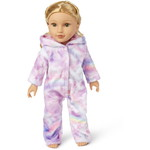 THE CHILDREN'S PLACE/チルドレンズプレイス Doll Mommy And Me Unicorn Cloud Fleece Matching One Piece Pajamas