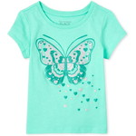 THE CHILDREN'S PLACE/チルドレンズプレイス Butterfly Matching グラフィックTシャツ