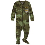 THE CHILDREN'S PLACE/チルドレンズプレイス Camo Snug Fit Cotton One Piece パジャマ