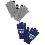 THE CHILDREN'S PLACE/チルドレンズプレイス Video Game Texting Gloves 2-Pack
