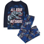 THE CHILDREN'S PLACE/チルドレンズプレイス Dino Snore Pajamas