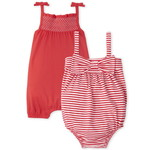 THE CHILDREN'S PLACE/チルドレンズプレイス Smocked Striped Romper 2パック