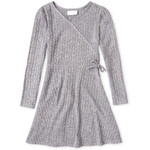 THE CHILDREN'S PLACE/チルドレンズプレイス Lightweight Sweater Knit Faux Wrap ドレス