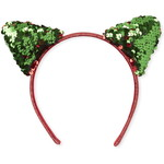 THE CHILDREN'S PLACE/チルドレンズプレイス Girls Christmas Light Up Cat Ears ヘッドバンド