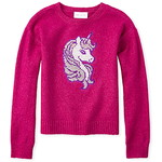 THE CHILDREN'S PLACE/チルドレンズプレイス Flip Sequin Unicorn Sweater