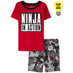 THE CHILDREN'S PLACE/チルドレンズプレイス Glow Ninja Snug Fit Cotton パジャマ