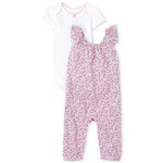 THE CHILDREN'S PLACE/チルドレンズプレイス Floral 2Piece Playwear Set