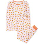 THE CHILDREN'S PLACE/チルドレンズプレイス Mommy And Me Halloween Glow Candycorn Matching Cotton パジャマ