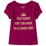 THE CHILDREN'S PLACE/チルドレンズプレイス Glitter In Charge グラフィックTシャツ