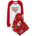 THE CHILDREN'S PLACE/チルドレンズプレイス Matching Family Christmas Crew Snug Fit Cotton And Fleece パジャマ