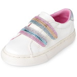 THE CHILDREN'S PLACE/チルドレンズプレイス Glitter Striped Low Top スニーカー