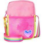 THE CHILDREN'S PLACE/チルドレンズプレイス Coloblock Heart Phone Bag