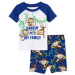 THE CHILDREN'S PLACE/チルドレンズプレイス Monkey Family Snug Fit Cotton パジャマ
