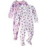 THE CHILDREN'S PLACE/チルドレンズプレイス Princess Snug Fit Cotton One Piece パジャマ 2-パック