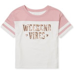 THE CHILDREN'S PLACE/チルドレンズプレイス Active Glitter Weekend Vibes トップ