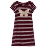 THE CHILDREN'S PLACE/チルドレンズプレイス Glitter Butterfly Striped ドレス