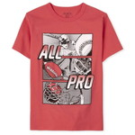 THE CHILDREN'S PLACE/チルドレンズプレイス All Pro Sports Graphic Tシャツ