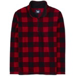 THE CHILDREN'S PLACE/チルドレンズプレイス Adult Matching Family Buffalo Plaid Glacier Fleece Half Zip プルオーバー