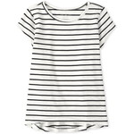 THE CHILDREN'S PLACE/チルドレンズプレイス Striped High Low Basic Layering ティ