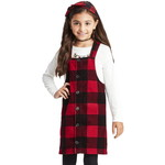 THE CHILDREN'S PLACE/チルドレンズプレイス Buffalo Plaid Corduroy Skirtall
