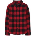 THE CHILDREN'S PLACE/チルドレンズプレイス Buffalo Plaid Flannel Button Down シャツ