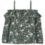 THE CHILDREN'S PLACE/チルドレンズプレイス Floral Dobby Ruffle Off Shoulder トップ