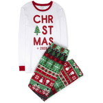 THE CHILDREN'S PLACE/チルドレンズプレイス Adult Matching Family Christmas Fairisle Cotton And Fleece パジャマ
