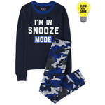 THE CHILDREN'S PLACE/チルドレンズプレイス Glow Snooze Mode Snug Fit Cotton パジャマ
