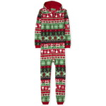 THE CHILDREN'S PLACE/チルドレンズプレイス Adult Matching Family Christmas Fairisle Fleece One Piece パジャマ