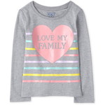 THE CHILDREN'S PLACE/チルドレンズプレイス Love My Family Graphic Tシャツ