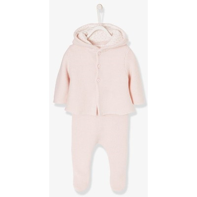 Vertbaudet/ヴェルボデ 3-Piece Outfit Gift for Newborn Babies
