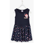 Vertbaudet/ヴェルボデ(ベビー服とキッズ服) My Little Pony Sleeveless ドレス with Print - blue dark all over printed