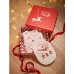 Vertbaudet/ヴェルボデ Christmas Gift Box with Sleepsuit & Bib, for Babies, JAA