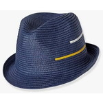 Vertbaudet/ヴェルボデ  Occasionwear Hat - blue dark solid with design
