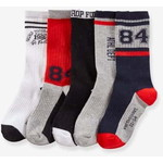 Vertbaudet/ヴェルボデ Pack of 5 Pairs of Sports ソックス  / グレー MEDIUM MIXED COLOR
