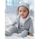 Vertbaudet/ヴェルボデ 3-Piece Outfit Gift for Newborn Babies - グレー