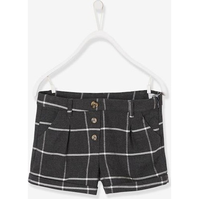 Vertbaudet/ヴェルボデ Checked Shorts  - grey