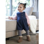 Vertbaudet/ヴェルボデ Jumpsuit in Woollen Fabric, for Baby Girls
