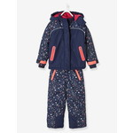Vertbaudet/ヴェルボデ Parka + Ski Trousers / Ski All-in-One, for Girls - ブルー