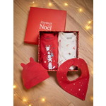 Vertbaudet/ヴェルボデ Christmas Box for Babies, 4 Items, OULANKA