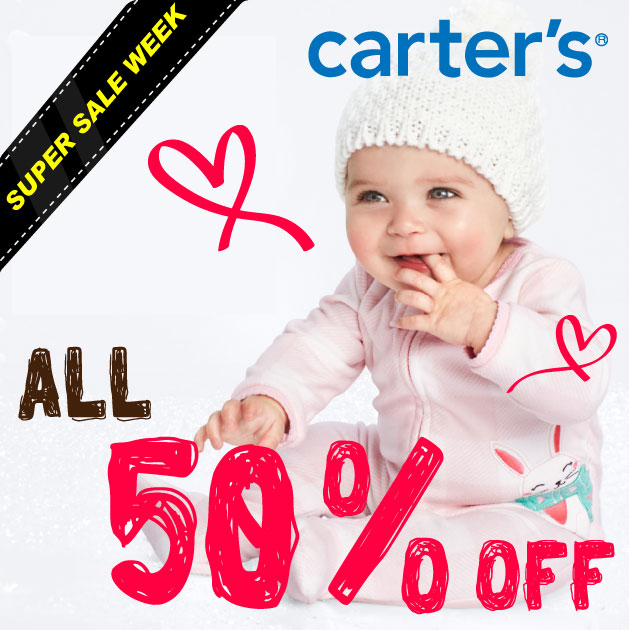 SUPERSALE2019秋carter's